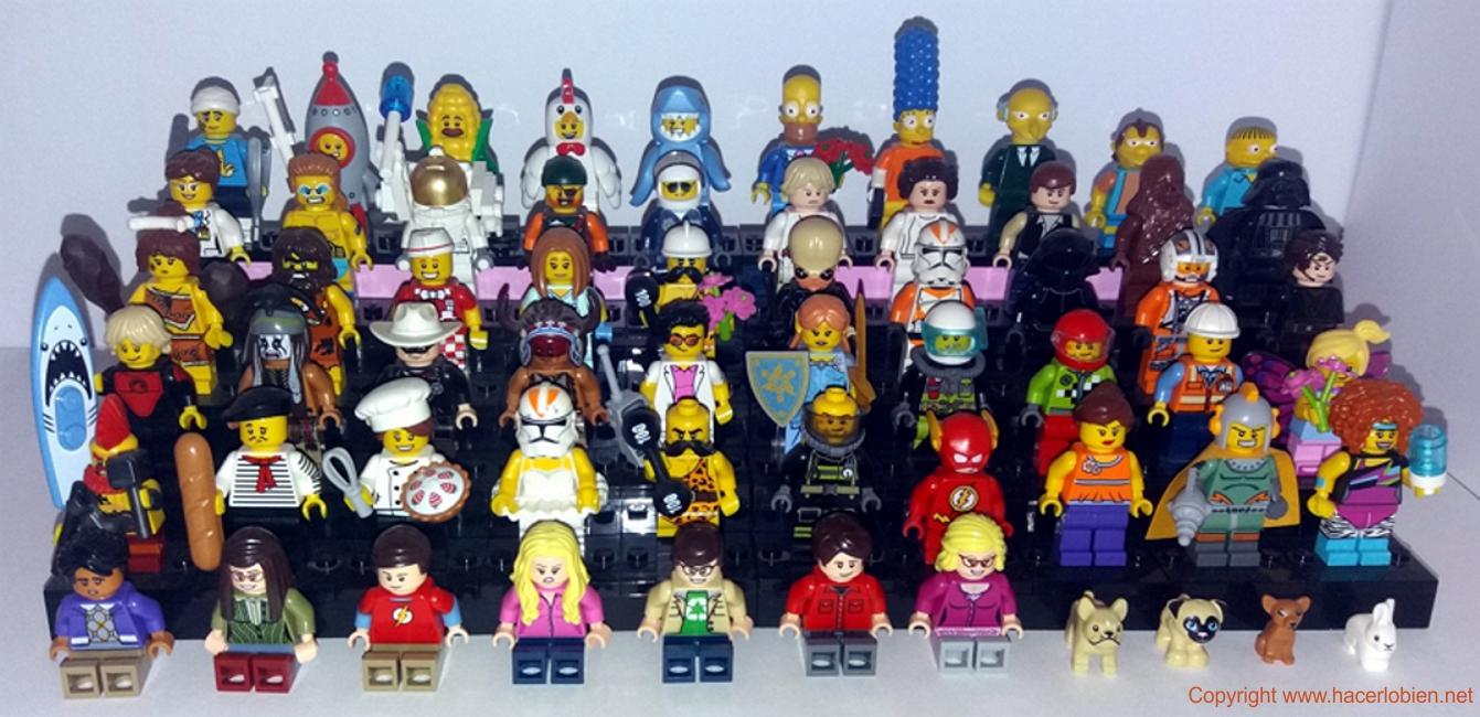 Ejemplos del uso de Lego en consultoría y formación
